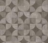 Livingwalls Braun Holz Mosaik Vliestapete Metropolitan Stories 369132