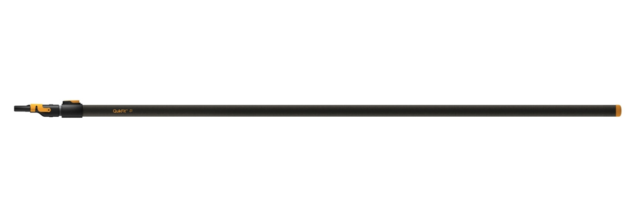 rutschfester Griff 84 cm Fiskars QuikFit Stiel Graphit Komfort für Garten