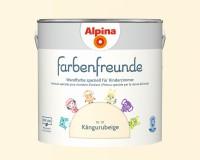 2x Alpina Farbenfreunde günstig im Set Innenfarbe Kängurubeige 2,5 L