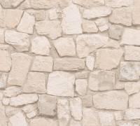 AS Creation Tapete | Steinoptik Beige Braun Bunt | Il Decoro