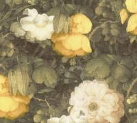 Livingwalls Gelb Retro Floral Vliestapete Metropolitan Stories 369211