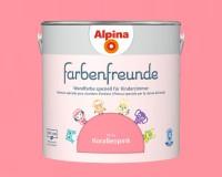 2x Alpina Farbenfreunde günstig im Set Innenfarbe Korallenpink 2,5 L