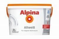 Alpina Altweiß 2,5L|5L|10L Gedecktes Weiß für Innenräume