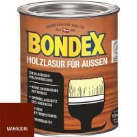 Bondex Holzlasur für Außen, 0,75 - 4,8 l, 14Farben, witterungsbeständig 0,75l / Mahagoni