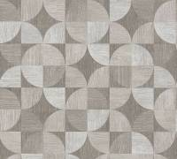 Livingwalls Grau Holz Mosaik Vliestapete Metropolitan Stories 369133