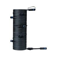 Paulmann Plug & Shine Connector IP68 15m Schwarz 1in-7out