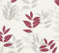 AS Creation Tapete Blooming Weiss Grau Beige   Blumentapete