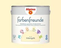 2x Alpina Farbenfreunde günstig im Set Innenfarbe Kükengelb 2,5 L