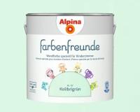 2x Alpina Farbenfreunde günstig im Set Innenfarbe Kolibrigrün 2,5 L