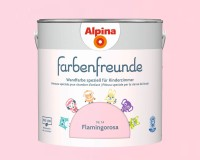 2x Alpina Farbenfreunde günstig im Set Innenfarbe Flamingorosa 2,5 L