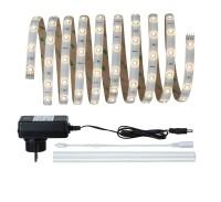 Paulmann YourLED Stripe Basisset 3 m Warmweiß/ TageslichtweißIP44 Weiß, klar beschichtet, Wasserdic