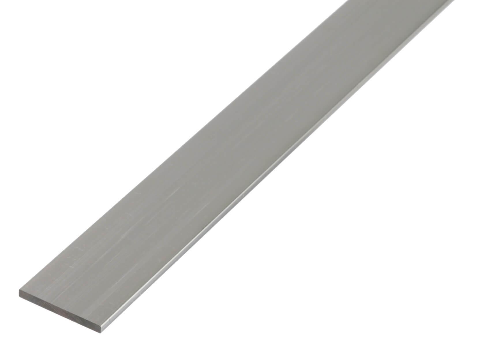 GAH-Alberts 469375 Flachstange natur Aluminium 1000 x 15 x 2 mm