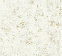 AS Creation Tapete Blooming Weiss Metallic | Vintagetapete Retro