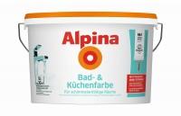 Alpina Farben Spezialfarbe Bad- und Küchenfarbe DIF 5L Bad- und Küchen Spezialfarbe Weiß 5 LT