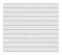 Doppelstab-Gittermatte 8 | 6 |  8 Anthrazit 2500x2230