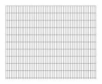 Doppelstab-Gittermatte 8 | 6 |  8 Anthrazit 2500x2030