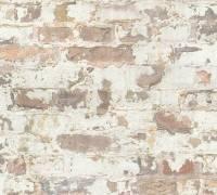 Livingwalls Grau Stein Shabby Chic Vliestapete Metropolitan Stories 369291