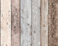 AS Creation Shabby-Holz Vliestapete Best of Wood`n Stone 2nd Edition, Tapete 855039
