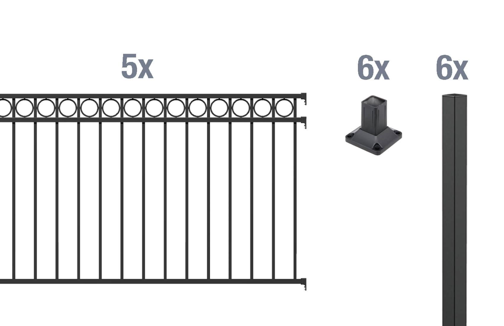 material f r den zaun welches ist das beste. Black Bedroom Furniture Sets. Home Design Ideas