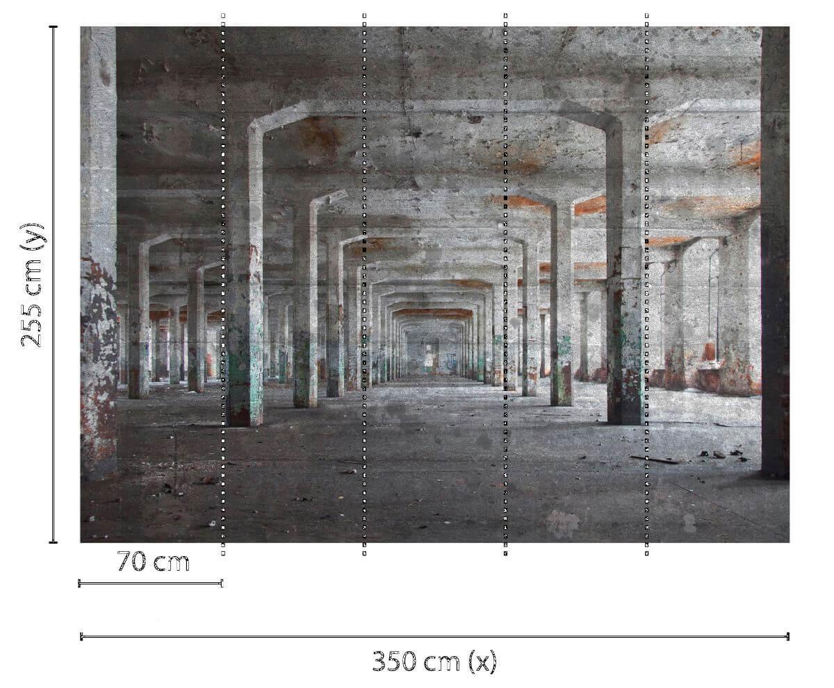 as creation designwalls concrete posts illusion