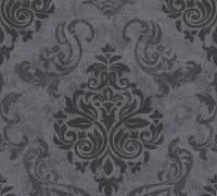 AS Creation Vliestapete Memory 3 Grau-Schwarz, Ornament, 953723 Tapete