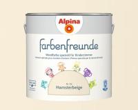 2x Alpina Farbenfreunde günstig im Set Innenfarbe Hamsterbeige 2,5 L