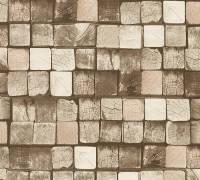 AS Creation Holzbalken Vliestapete Best of Wood`n Stone 2nd Edition, Tapete 344525