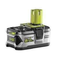 Ryobi Akku 5,0 Ah ONE+ RB18L50   Für alle 18 V ONE+ Gartengeräte und Elektrowerkzeuge