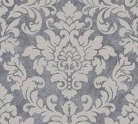 AS Creation Tapete | Barocktapete Beige Grau Metallic | Trendwall