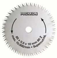 Proxxon Kreissägeblätter in verschiedenen Ausführungen für Feinschnitt-Tischkreissäge