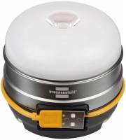 Brennenstuhl Akku LED Outdoor Leuchte Oli 0300 A, Campingleuchte | Campinglampe, mit USB-Powerbank