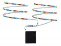 Paulmann LED Mobil Stripe RGB 2x80cm 1,2W batteriebetrieben in verschiedenen Farben
