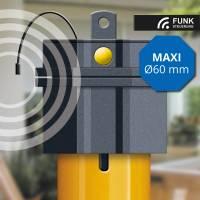 Schellenberg Rohrmotor Premium Maxi mit Funksteuerung