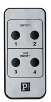 Paulmann URail System Handsender Profi Light&Easy, PIR, Chrom matt, Schienensystem Wand- und Deckenleuchten