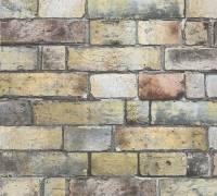 AS Creation Bunt Backstein Vliestapete Authentic Walls 2 302561