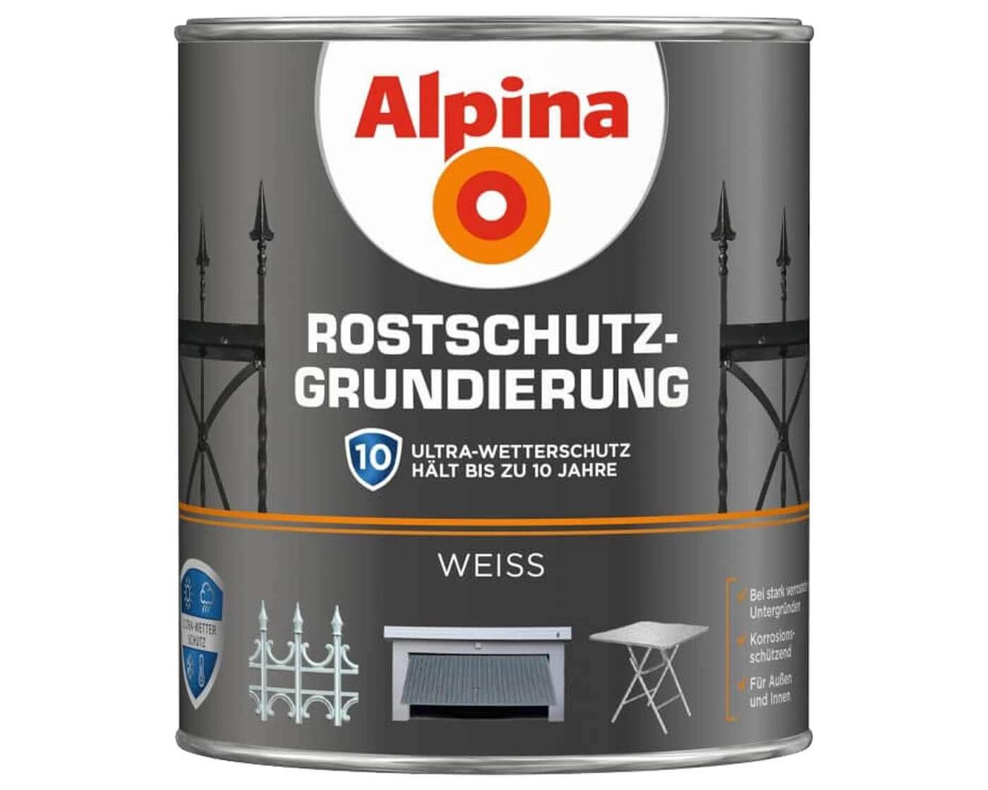 alpina rostschutz grundierung