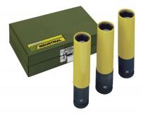 "PROXXON Impact-Steckschlüsselsatz 1/2"", 3-tlg. (17, 19, 21 mm), 130 mm lang"