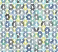 Livingwalls Vliestapete Colibri Gelb-Blau, Karo Modern, 362882 Tapete