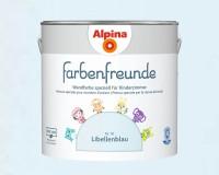2x Alpina Farbenfreunde günstig im Set Innenfarbe Libellenblau 2,5 L