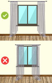 Gardinenstange: Tipp
