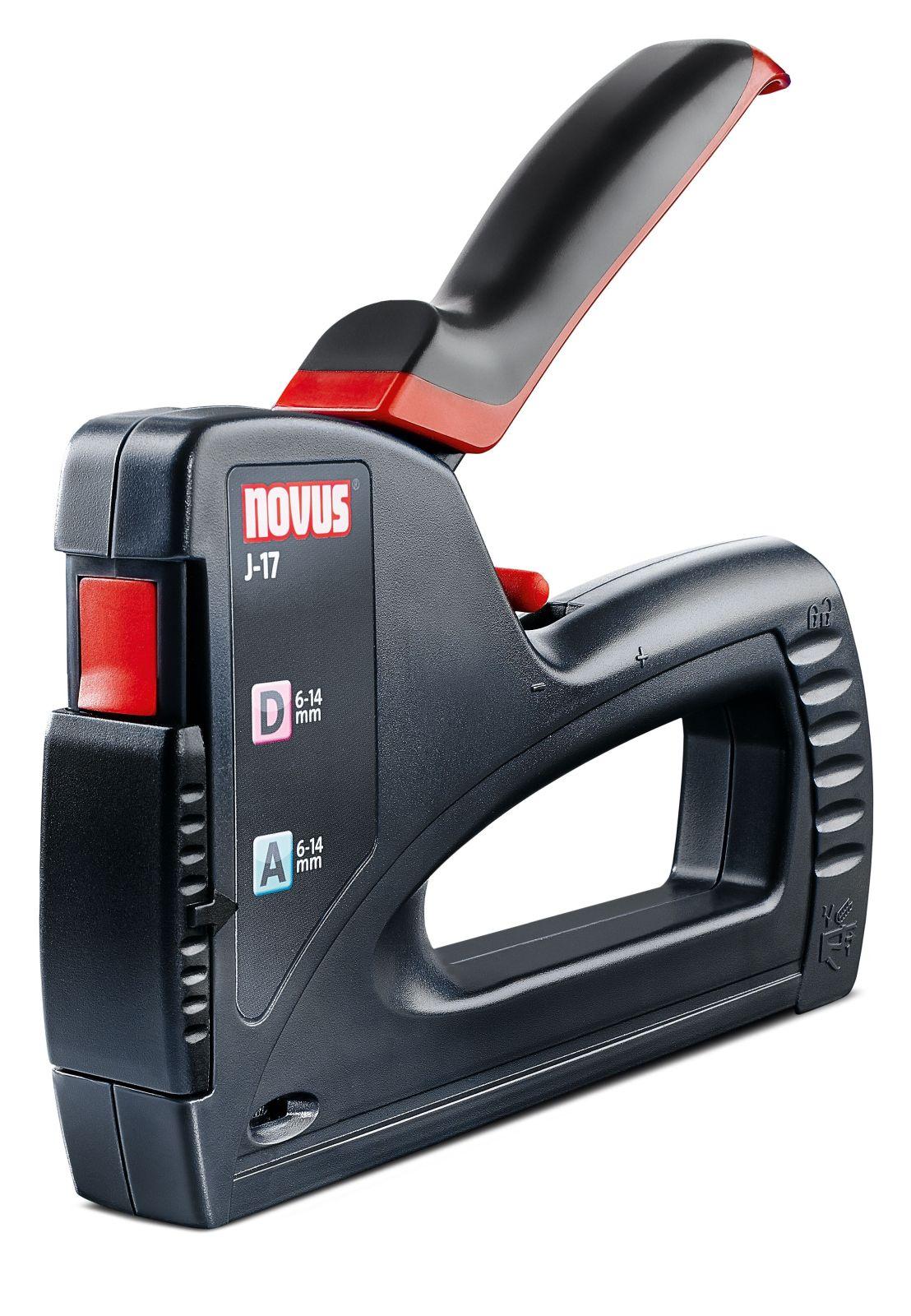 novus j 17 dual power handtacker profitacker. Black Bedroom Furniture Sets. Home Design Ideas