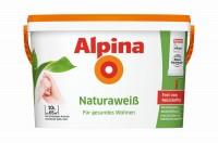 Alpina Wandfarbe Naturaweiß 2,5L|5L|10L Für Allergiker frei von Reizstoffen