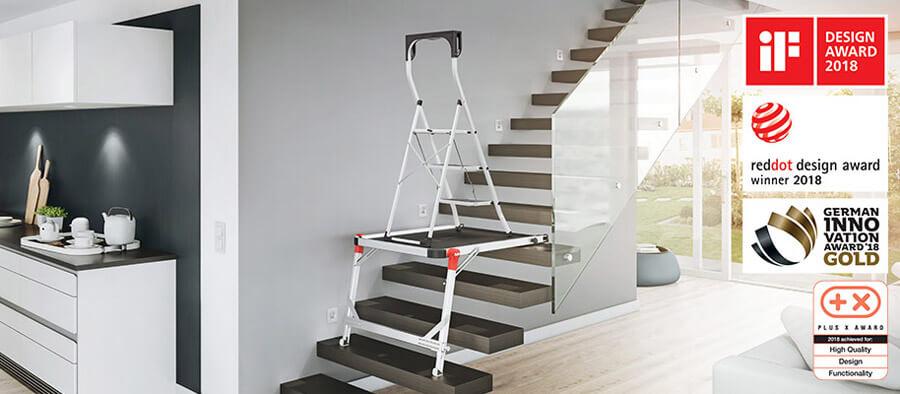 Hailo Leiter-Podest Treppe Auszeichnung