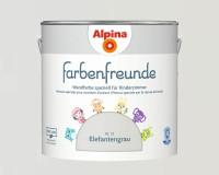 2x Alpina Farbenfreunde günstig im Set Innenfarbe Elefantengrau 2,5 L