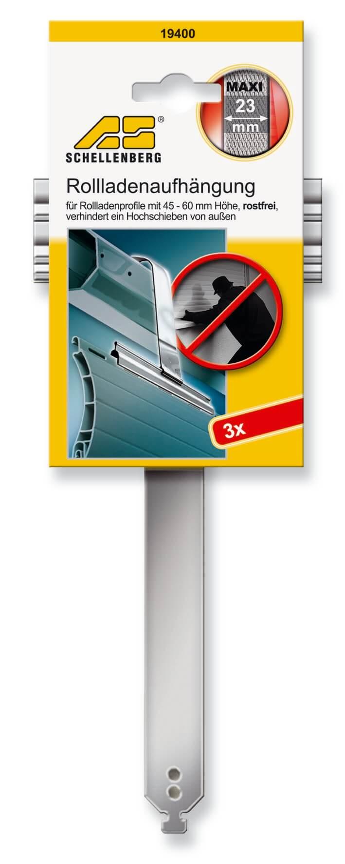 Schellenberg 19400 Rolladenaufhangung Maxi Stahl Aufhange Feder