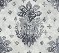 AS Creation Vliestapete Boho Love Metallic-Grau, Barock-Ornament,364563 Tapete