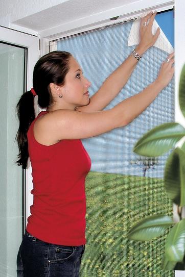 schellenberg fliegengitter 100x130cm wei 2 st mit insektenschutz magnetvorhang ebay. Black Bedroom Furniture Sets. Home Design Ideas