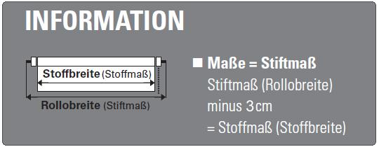 Stoffmass