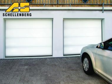 Schellenberg 60515 Sektional-Garagentor inkl. elektrischen Torantrieb Drive 700P