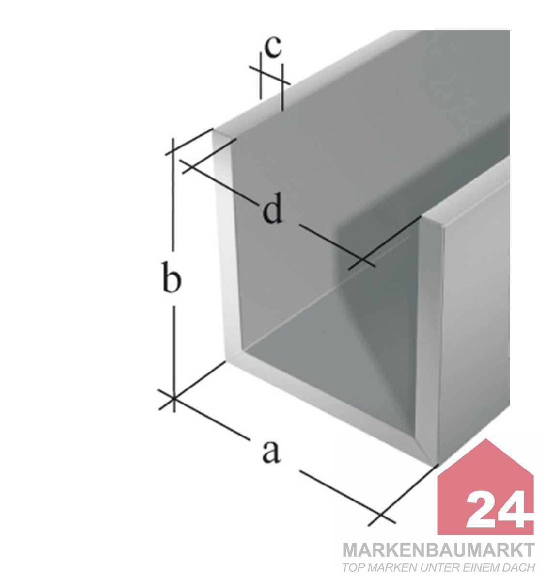 aluprofile u form ungleich metallteile verbinden. Black Bedroom Furniture Sets. Home Design Ideas